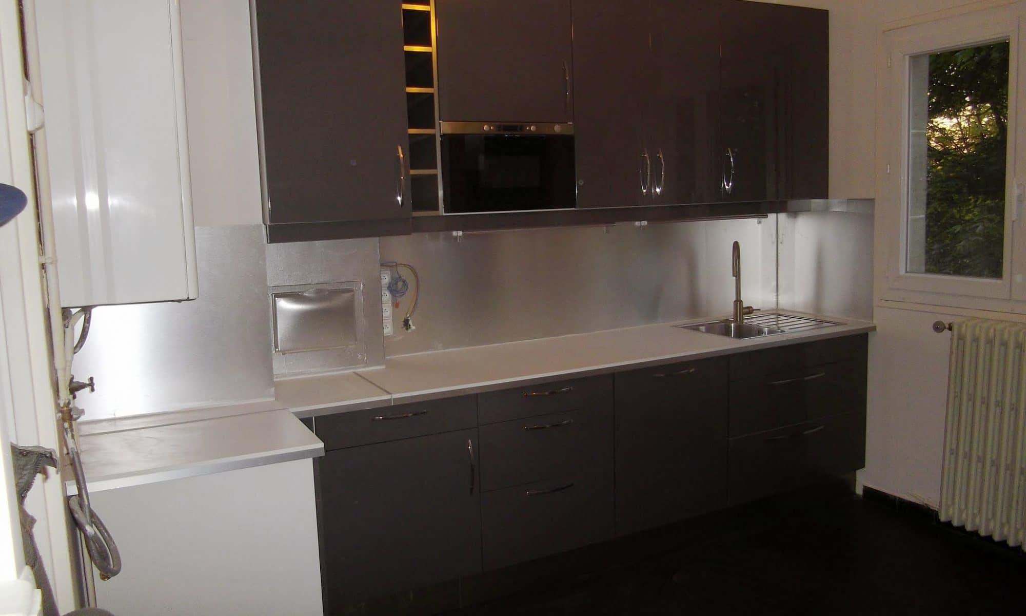 Montage et Pose d'une cuisine équipée IKEA à CHAMPIGNY 94